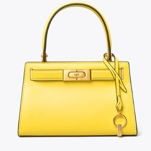 Tory Burch🌼NEW🌼Lee Radziwill Petite bag yellow